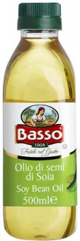 Масло соевое Basso 500 мл (8004123013598)