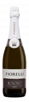 Ігристе вино Fiorelli Moscato Spumante Dolce VSQA бiле солодке 0.75 л 7% (8002915000023)