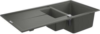 Кухонна мийка GROHE Sink K400 31642AT0 зі змішувачем Eurosmart Cosmopolitan 31481001