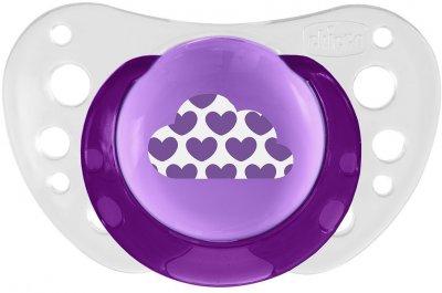 Пустышка Chicco Physio Air силиконовая от 6 до 16 месяцев Розовая 2 шт (75032.11.00.00)