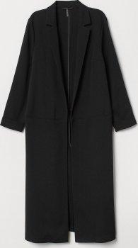 Пальто H&M 0678968-9 Чорне