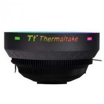 Кулер процесорний Thermaltake UX100 ARGB Lighting (CL-P064-AL12SW-A), Intel: 775/1150/1151/1155/1156 AMD: FM2/FM1/AM3/AM3+/AM2+/AM2/AM4, 122.3х122.3х66.1 мм, 3-pin