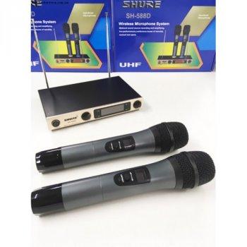 Цифрова радіосистема з док станцією, радіо мікрофон Shure SH588D