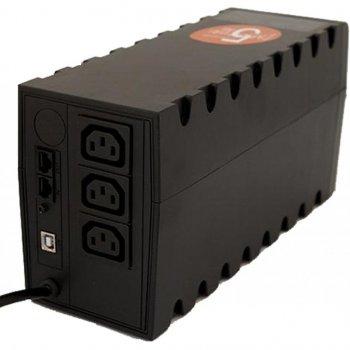 Пристрій безперебійного живлення Powercom RPT-600AP