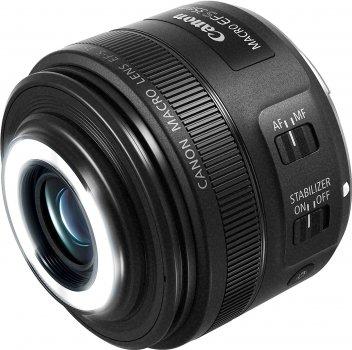 Canon EF-S 35 mm F/2.8. IS STM Macro Black (2220C005) Офіційна гарантія!