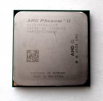 Процесор AMD Phenom II X4 955 Black Edition 3,2 GHz sAM3 Tray 125w (HDZ955FBK4DGM) Deneb Б/У