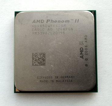 Процесор AMD Phenom II X4 850 3,3 GHz sAM3 Tray 95w (HDX850WFK42GM) Propus Б/У