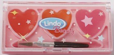 Блеск для губ Lindo 3 сердца (4826721518701)