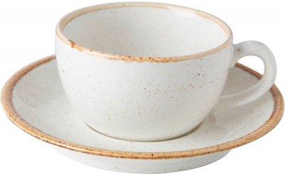 Чашка для капучино Porland Seasons 200 мл Бежевая (04ALM001408)