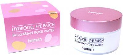 Гідрогелеві патчі Heimish для очей з екстрактом болгарської троянди Bulgarian Rose Hydrogel Eye Patch 60 шт. (8809481760883)