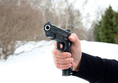 Страйкбольный пистолет Браунинг G20 (Browning HP)