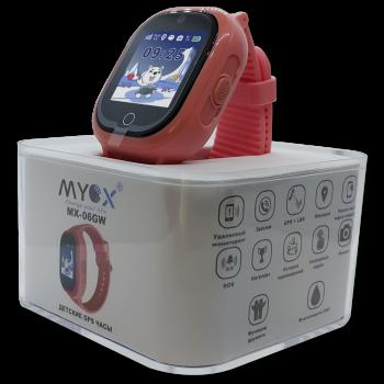 Дитячі водонепроникні GPS годинник MYOX МХ-06GW рожеві (камера)