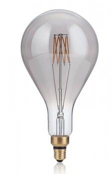Світлодіодна лампа Ideal Lux Vintage Xl E27 8W Goccia Fume' 2200K (204543)