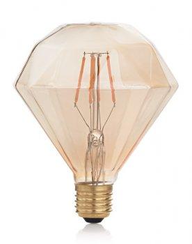 Світлодіодна лампа Ideal Lux Vintage E27 4W Diamond 2200K (201269)