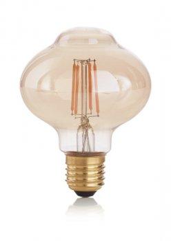 Світлодіодна лампа Ideal Lux Vintage E27 4W Bolla 2200K (201283)