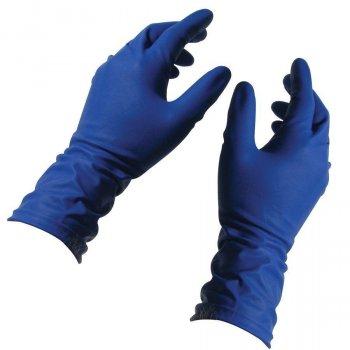 Перчатки синие Ambulance High Risk латекс повышенной прочности M RD10011003
