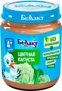 Упаковка овочевого пюре Беллакт з цвітної капусти 12 банок по 100 г (4814716000393_12)