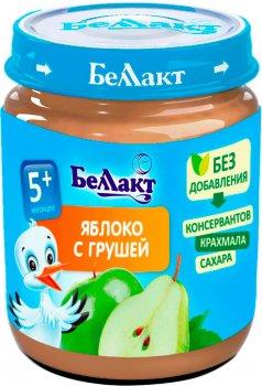 Упаковка фруктового пюре Беллакт з яблук і груш 12 банок по 100 г (4814716000119_12)