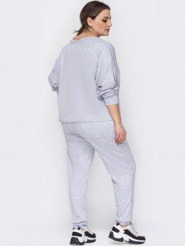 Спортивный костюм Dressa 53330 Серый