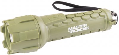 Фонарь водонепроницаемый Mastertool 180 х 55 мм, CREE LED, IP66, 2 x AA, PP + PVC (94-0802)