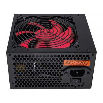 Блок живлення Logicpower ATX-500W, 12см, 4 SATA, OEM, Black, без кабелю живлення