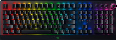 Клавіатура бездротова Razer BlackWidow V3 Pro Wireless Razer Yellow Switch ENG Black (RZ03-03531700-R3M1)