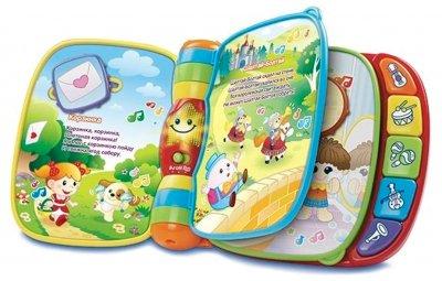 Розвивальна іграшка VTech Музична книга зі звуковими ефектами (80-166726) (3417761667262)