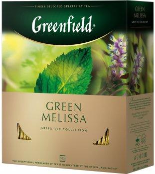 Чай пакетированный Greenfield Melissa 100 шт x 1.5 г (4823096806570)