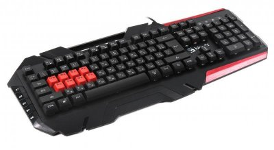 Клавіатура A4Tech B3590R Bloody Black USB