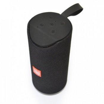 Портативна Bluetooth колонка T&G 113, вологостійка c функцією гучний зв'язок, FM радіо, чорна