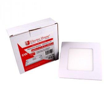 LED панель ElectroHouse квадратна 6W 4100К 540Lm 120х120мм