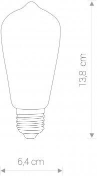 Світлодіодна лампа Nowodvorski NW-9796 Vintage LED