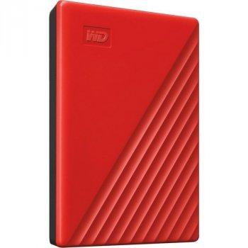 """HDD ext 2.5"""" USB 4.0 TB WD My Passport Red (WDBPKJ0040BRD-WESN)"""