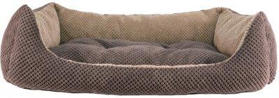 Лежак для кішок і собак Фортнокс FX home Armando Brown 63 х 46 х 15 см Коричневий (2820000013392)
