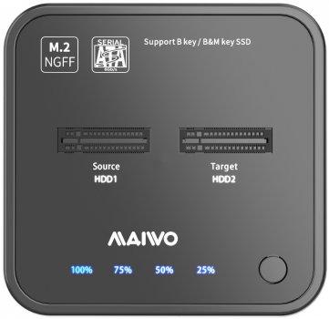 Док-станція Maiwo для M.2 SSD SATA Key M/B+M USB 3.1 Gen1 Type-C (K3016SG1)