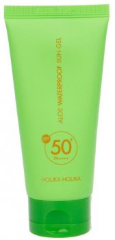 Солнцезащитный гель Holika Holika Aloe Waterproof Sun Gel 50+ SPF / PA++++ 100 мл (8806334375997)
