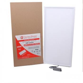 LED панель ElectroHouse прямокутна 20W 295х595мм