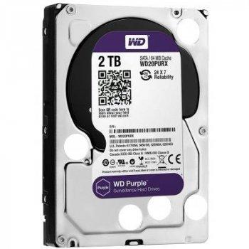 "Жесткий диск 3.5"" 2TB WD (WD20PURZ)"