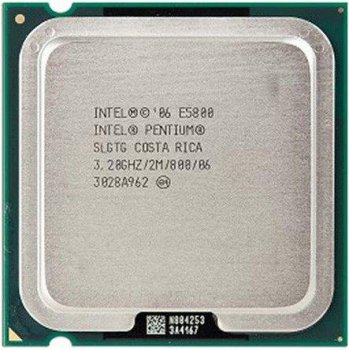 Процесор Intel Pentium Dual-Core E5800 3.20 GHz/2M/800 (SLGTG) s775, tray