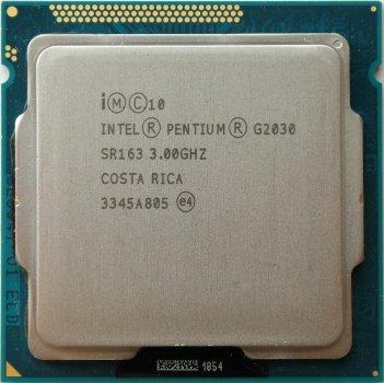 Процесор Intel Pentium Dual Core G2030 3.00 GHz/3MB/5GT/s (SR163) s1155, tray