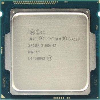 Процесор Intel Pentium Dual Core G3220 3.00 GHz/3MB/5GT/s (SR1RK) s1150, tray