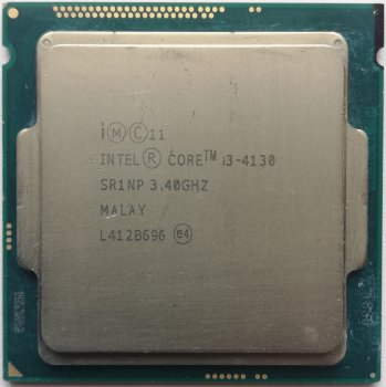 Процесор Intel Core i3-4130 3.4 GHz/3MB/5GT/s (SR1NP) s1150, tray