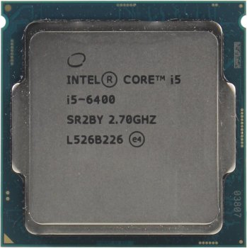 Процесор Intel Core i5-6400 2.7 GHz/6MB/8GT/s (SR2BY) s1151, tray