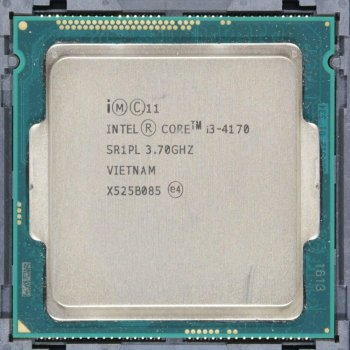 Процесор Intel Core i3-4170 3.7 GHz/3MB/5GT/s (SR1PL) s1150, tray