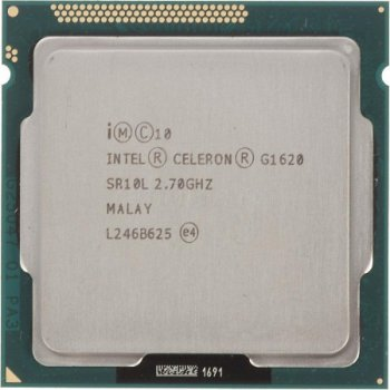 Процесор Intel Celeron G1620 2.70 GHz/2MB/5GT/s (SR10L) s1155, tray