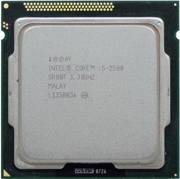 Процессор Intel Core i5-2500 3.3GHz/6MB (SR00T) s1155, tray
