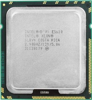 Процесор Intel Xeon E5620 2.4 GHz/12MB/5.86 GT/s (SLBV4) s1366, tray