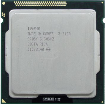 Процесор Intel Core i3-2120 3.3 GHz/3MB/5GT/s (SR05Y) s1155, tray