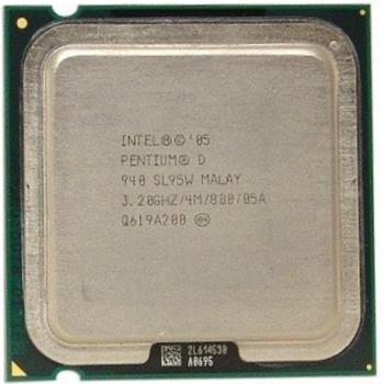 Процесор Intel Pentium D940 3.20 GHz/800MHz/4096k (SL95W) s775, tray
