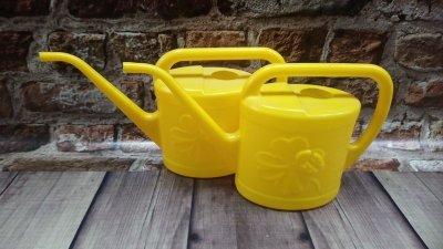 Лейка Цветочек желтая 2.25 л